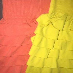 Crush Bottoms - Girls Ruffled Skirts Size 4-6x